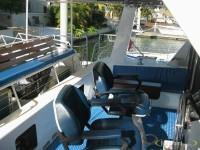Guests are welcome to take the helm