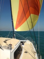 Sundancer sail comfortably in any wind