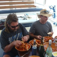 mud crab delight courtesy of our guests