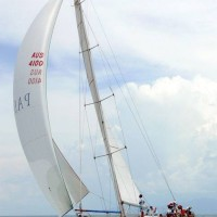 Australian Maid sailing in Darwin to Dili Rally