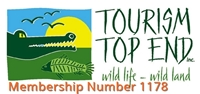 Sail Darwin a member of Tourism Top End, Member Number 1178