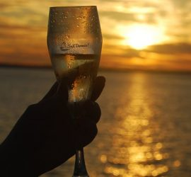 Spectacular Sunsets with Bubbles